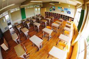 Heiwa elementary school by ajari
