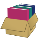 nicubunu_Box_with_folders from openclipart.org